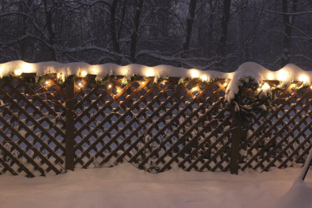 christmas lights in snow iStock_000039234196_Medium