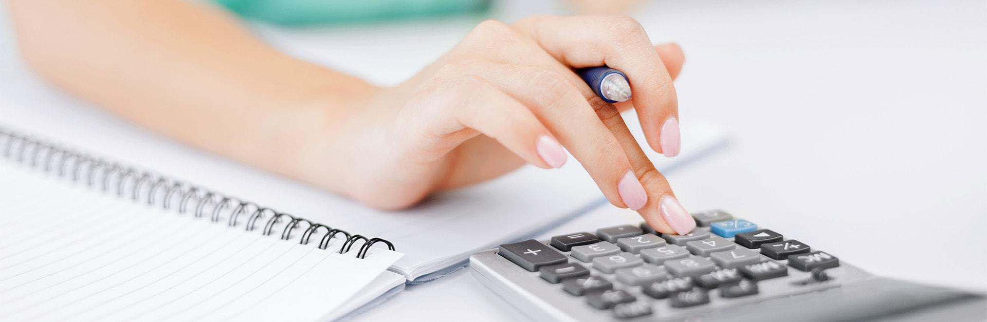 Debt Advisory Services woman debt advice calculator