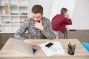 Debt Arrangement Scheme or Debt Management Plan man deciding